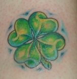 4_leaf_clover_tattoo_designs
