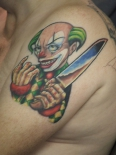 shoulder-clown-tattoo-design-for-men-2011