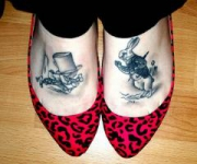 953-mad-hatter-and-white-rabbit-feet-tattoo_thumb
