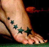 foot-star-tattoos-design