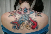 new_school_guitar_stars_tattoo_by_2face_tattoo