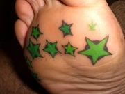star-tattoo-for-under-feet
