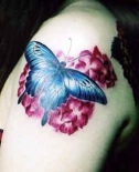 butterfly-floral-tattoos