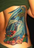 dolphin-fish-and-sea-tattoos