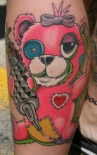 pink_teddy_bear_with_tattoo_machine_by_larry_brogan