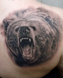 realistic-bear-tattoo