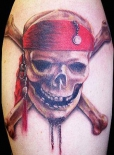 Jolly Roger Tatoo