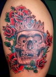 skull-crown-tattoo